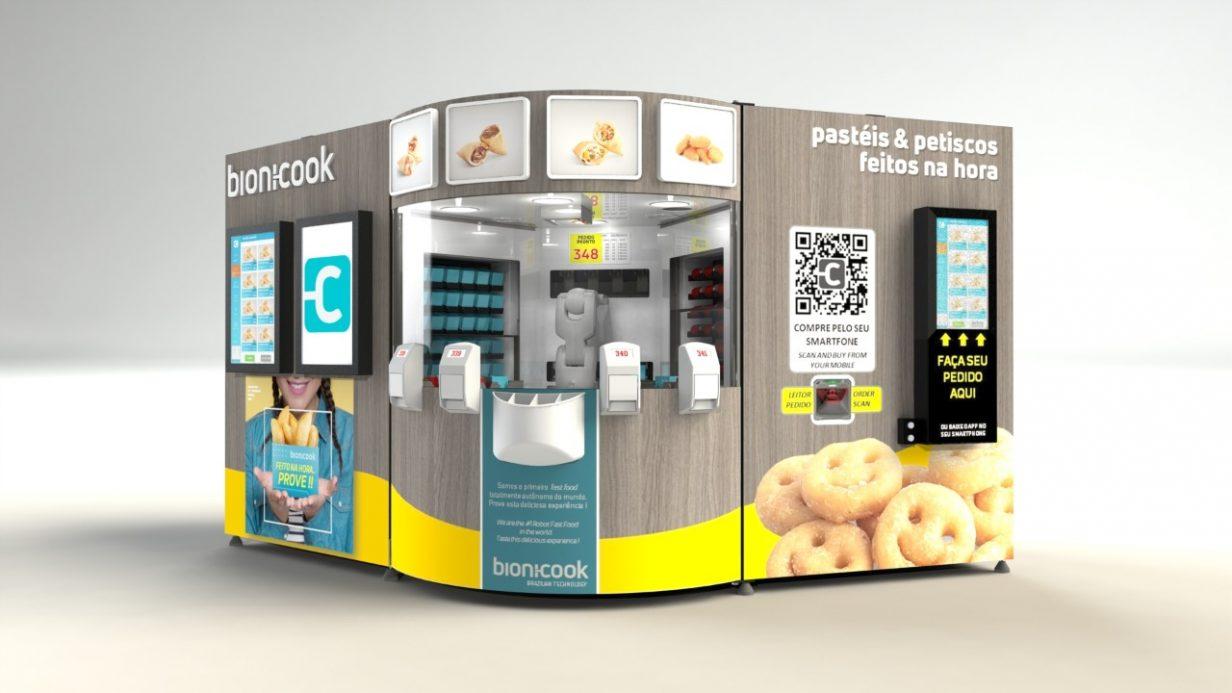 Primeiro fast food robotizado do mundo foi instalado no Aeroporto de Guarulhos