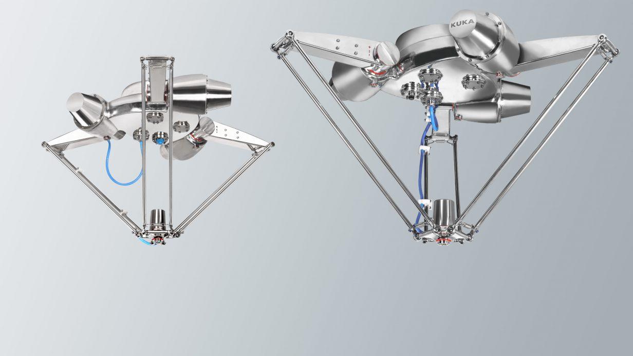 KUKA lança o novo robô higiênico KR DELTA